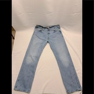 Levi's 501 Button Fly Jeans Size 38 x 34